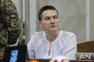 Апелляционный суд оставил Савченко за решеткой до июля