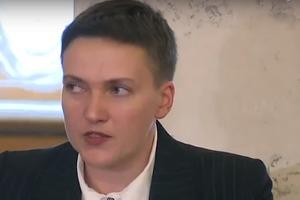 Савченко о планировании террактов - это был розыгрыш силовиков