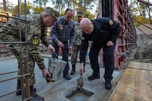 Турчинов дал старт строительству новой штаб-квартиры внешней разведки