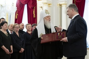 Філарет отримав звання Героя України
