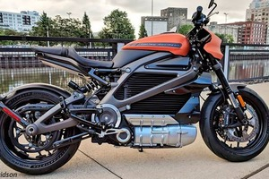 Harley-Davidson выпустил свой первый электромотоцикл