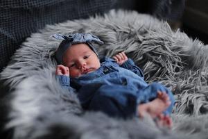 Юная модель узнала о беременности уже когда родила
