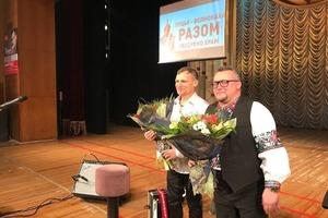 Скрипка на благотворительном концерте собрал деньги на церковь в Волновахе
