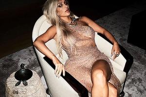 Ким Кардашьян снялась в роскошной фотосессии для издания Violet Grey