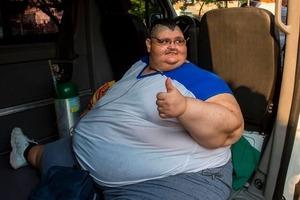 Самый толстый человек в мире похудел ради операции