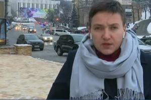 Савченко в модных наушниках от Іphone Х высказалась против миротворцев на Донбассе