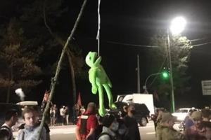 У мережі з'явилися результати протестів проти капітуляції перед резиденцією Президента в Конча-Заспі