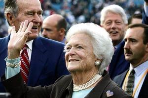 Ушла из жизни бывшая первая леди США Барбара Буш
