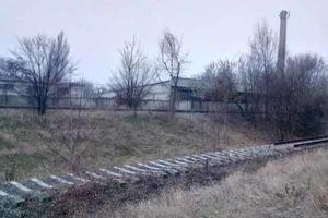 В оккупированном Донецке исчезают даже железнодорожные пути