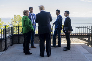 На саммите G7 Трамп «грозил» отправить 25 млн мексиканцев в Японию