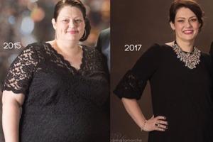 Невероятная сила воли: этой женщине удалось сбросить 80 кг