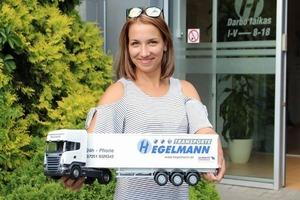 Ольга Солодухина о работе в Hegelmann Transporte: «Первый мой груз — 23-тонный поршень от корабля на всю длину прицепа»