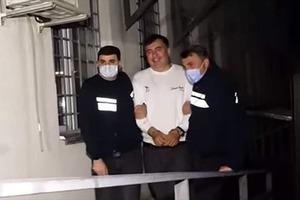 Саакашвили задержан в Грузии