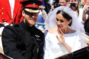 Трогательно до слез. Самые красивые фото свадьбы принца Гарри и Меган Маркл