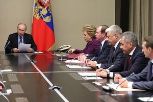 Не понравилось. Путин созвал Совбез обговорить Закон о деоккупации