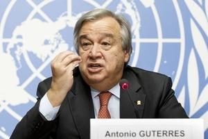 Генсек ООН назвал Украину приоритетом в 2018 году