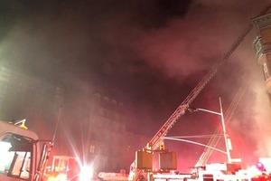 Пожарный сгорел на съемке фильма с Брюсом Уиллисом