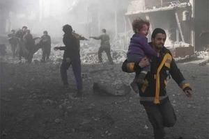 Авиация РФ и Асада бомбит Восточную Гуту: погибли 500 мирных жителей