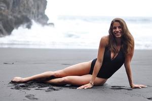 Самая сексуальная украинская легкоатлетка очаровала фотографией в водопаде