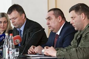 Хуг встретился с главарем террористов «ЛНР» Плотницким