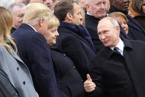 Путин показал Трампу палец. Появилось видео