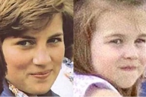 Как две капли воды: замечено невероятное сходство дочери Уильяма и Кейт с принцессой Дианой
