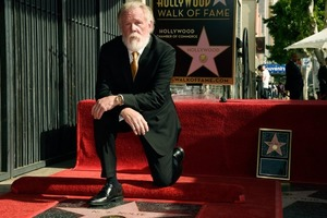 Известный голливудский мачо «зажег» свою звезду на голливудской Аллее славы