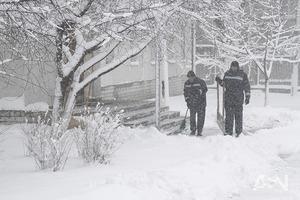На Украину надвигаются сильнейшие снегопады и потепление