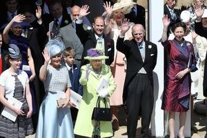 Кислая мина королевы испортила свадьбу принца Гарри