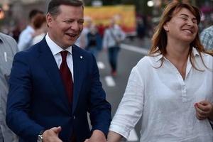 50-летняя жена Олега Ляшко родила сына. Подробности