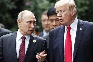 Путин поблагодарил Трампа за помощь в предотвращении теракта в Петербурге