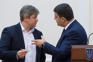 Заседание Кабмина закончилось ссорой Данилюка и Гройсмана