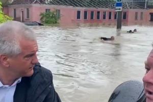 Керчь ушла под воду. ЧП в оккупированном Крыму