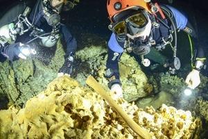 У величезній підводній печері знайшли кладовище майя