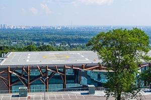 Элитный клуб и дата-центр. Кто захватил вертолетную площадку  Януковича задолго до националистов