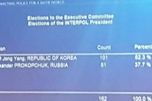 Россия в ауте: Интерпол возглавил кореец