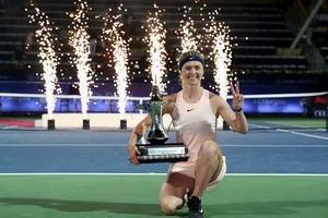 Свитолина разгромила россиянку в финале турнира в Дубае