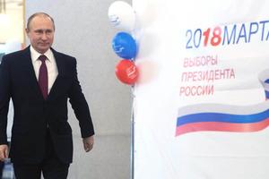 Экзит-полл. За Путина проголосовало более 70% избирателей