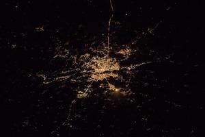 Астронавт NASA сделал красивейший снимок ночного Киева из космоса