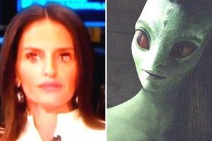 Инопланетянка в качестве эксперта появилась на американском ТВ