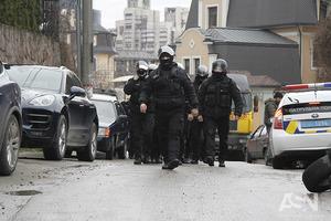 Акция протеста против незаконной застройки в Киеве закончилась дракой