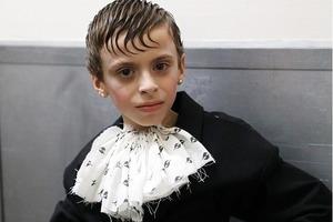 10-летний мальчик-трансвестит впервые принял участие в Неделе моды в Нью-Йорке