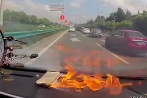 Эпичный взрыв iPhone случайно засняли на видео