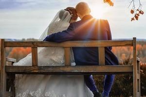 На свадебном фото вдруг проявился Волан-де-Морт