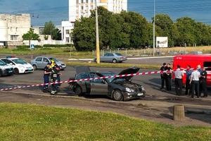 Взрыв авто в Черкассах. Полиция подтверждает гибель водителя