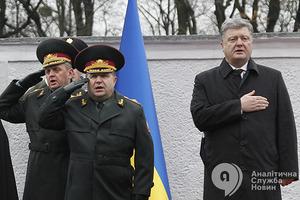 Генштаб и Минобороны подадут Порошенко кандидатуру командира объединенных сил реинтеграции Донбасса