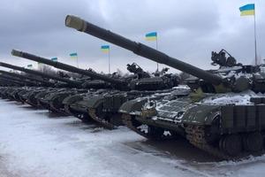 В Украине пытались поджечь военный арсенал