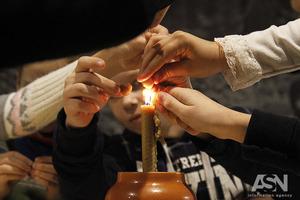 Свічка пам'яті. Діти вчилися шанувати предків, які померли від Голодомору