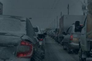Дороги у ще одній області закриті через сніг