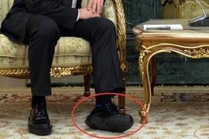 Соцмережі вирахували висоту каблуків, на яких ходить Путін